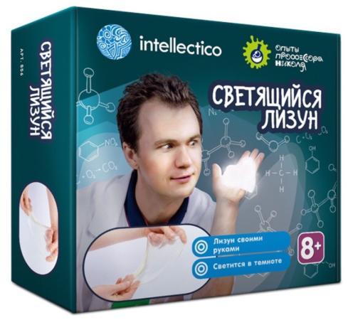 Набор для экспериментов INTELLECTICO Опыты профессора Николя - Лизуны светящиеся 856 набор для экспериментов intellectico магнитный лабиринт