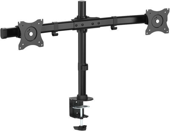 Кронштейн ARM Media LCD-T42 Черный для мониторов 15-32 настольный поворот и наклон max 20 кг кронштейн arm media lcd t51 черный для мониторов 15 32 настольный поворот и наклон max 10 кг