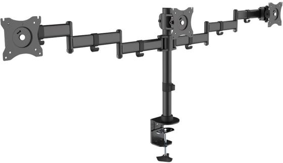 Кронштейн ARM Media LCD-T15 Черный для мониторов 15-32 настольный поворот и наклон max 30 кг
