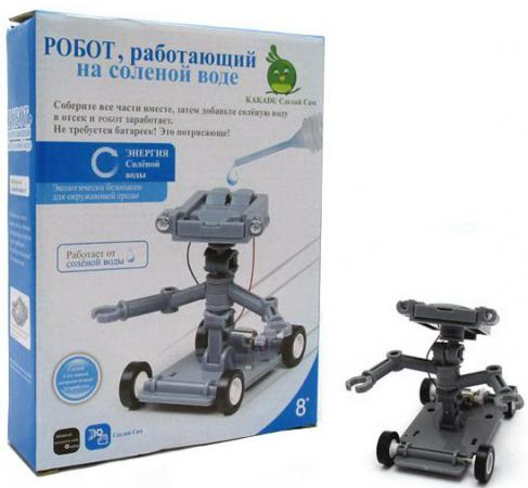 Игровой набор Kakadu Сделай Сам Робот, работающий на солёной воде 0024 kakadu kakadu набор для опытов сделай сам космический вседорожник на соленой воде