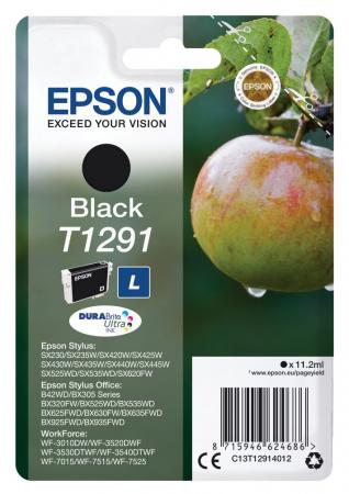 Картридж Epson C13T12914012 для Epson St SX420W/SX425W/SX525WD/SX620FW/BX305FV/BX305F/BX320FW/BX525WD/BX625FWD черный картридж epson c13t13024012 для epson st sx525wd sx535wd st of b42wd bx320fw bx625fwd bx635fwd wf 70