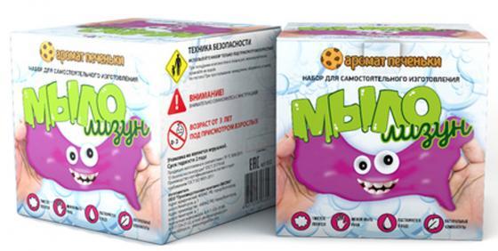 Набор для изготовления мыла Инновации для детей Мыло-лизун - Аромат печеньки от 6 лет 832 набор для опытов инновации для детей 835 мыло лизун тропический фреш