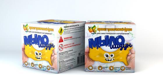 Набор для изготовления мыла Инновации для детей Мыло-лизун - Тропический фреш от 3 лет 835 набор для опытов инновации для детей 835 мыло лизун тропический фреш