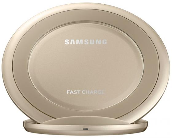 Беспроводное зарядное устройство Samsung EP-NG930BFRGRU 1A золотой беспроводное зарядное устройство samsung ep ng930bwrgru белый