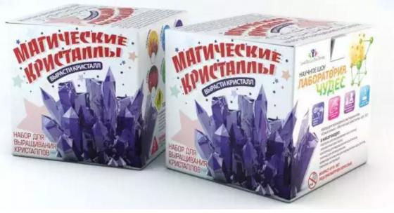Игровой набор Инновации для детей Инновации для детей Магические Кристаллы 502 инновации для детей набор бомбочки шипучки цветущий сад