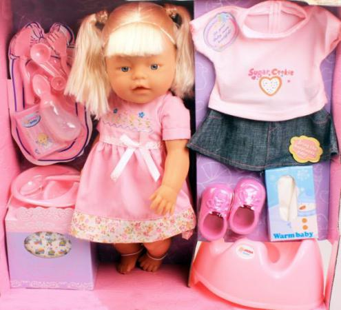 Кукла Shantou Gepai Хельга RT05062 42 см писающая в ассортименте кукла shantou gepai abbie модница 29 см ab024 в ассортименте