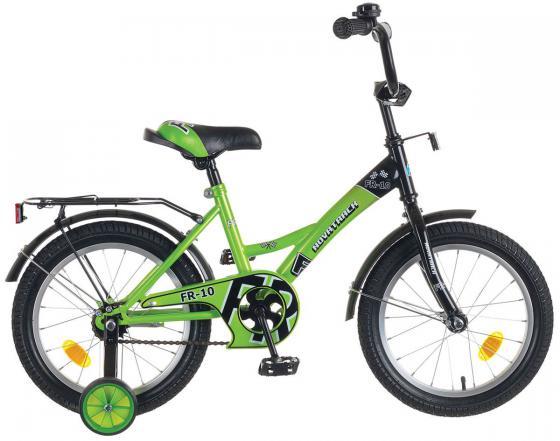 Велосипед двухколёсный Novatrack FR-10 16 зеленый 4602010339321 детский велосипед novatrack urban 16 red