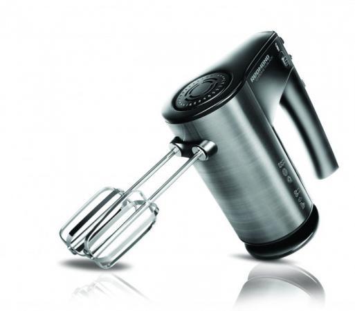 Миксер ручной Redmond RHM-M2103 500 Вт серебристый черный миксер ручной philips hr1560 20 400 вт черный