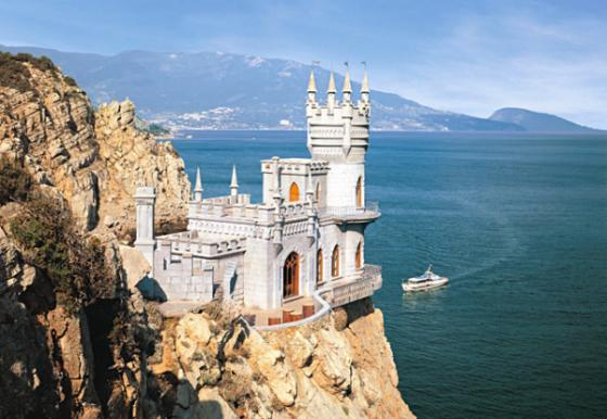 Пазл 1000 элементов Кастор Ласточкино гнездо, Крым  C-101160 пазл кастор озеро канада 1000 элементов