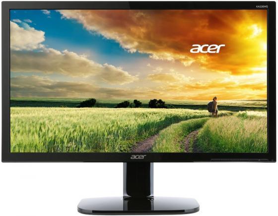 Монитор Acer 21.5 KA220HQbid черный IPS LED 4ms 16:9 DVI HDMI матовая 250cd 178гр/178гр 1920x1080 D-Sub FHD переходник aopen hdmi dvi d позолоченные контакты aca311