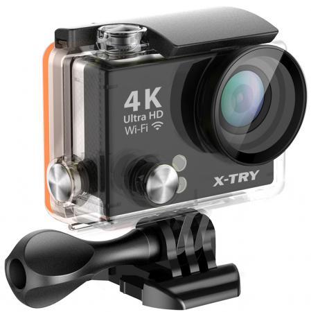 Экшн-камера X-TRY XTC150 черный от Just.ru