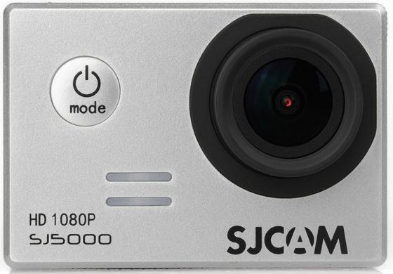 Экшн-камера SJCAM SJ5000 серебристый экшн камера sjcam sj5000 wifi серебристый sj5000wifisilver