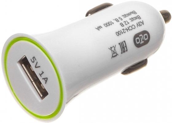 Автомобильное зарядное устройство Olto CCH-2100 HARPER-O00000561 1A USB белый автомобильное зарядное устройство olto cch 2103 harper o00000562