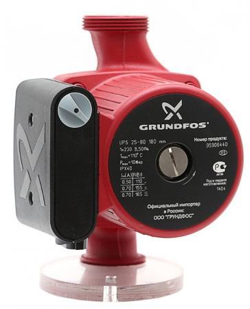 Насос циркуляционный Grundfos UPS 25-80 180 95906440 насос grundfos alpha2 25 80 180 99420015
