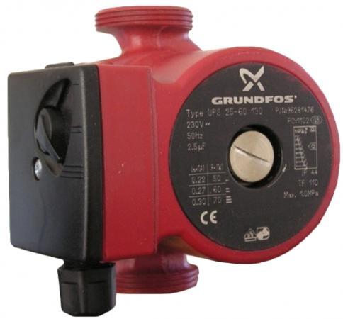 Насос поверхностный Grundfos UPS 25-60 130 3.8 куб. м/час 90 Вт grundfos sp 30 13