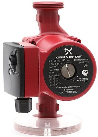 Насос циркуляционный Grundfos UPS 25-40 180 циркуляционный насос grundfos ups 25 40