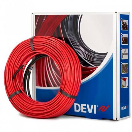 Фото - Нагревательный кабель DEVI Deviflex 18T 230В 15м кабель