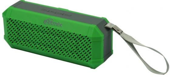 Портативная акустика Ritmix SP-260B хаки портативная колонка ritmix sp 260b army khaki