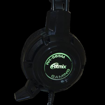 Гарнитура Ritmix RH-565M черный ritmix rh 187m red