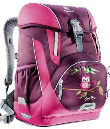 Школьный рюкзак Deuter OneTwo Сова 20 л бордовый