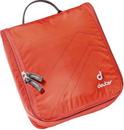 Пенал косметичка Deuter Wash Center II красная косметичка deuter accessoires wash room blackberry dresscode