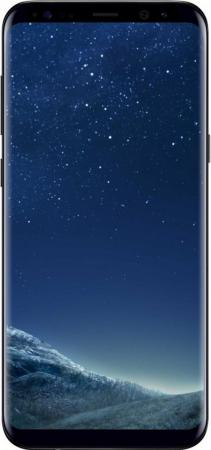 Смартфон Samsung Galaxy S8+ черный бриллиант 6.2 64 Гб NFC LTE Wi-Fi GPS 3G SM-G955FZKDSER смартфон nokia 3 dual sim черный 5 16 гб lte wi fi gps nfc 11ne1b01a09