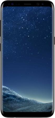 Смартфон Samsung Galaxy S8 черный бриллиант 5.8 64 Гб NFC LTE Wi-Fi GPS 3G SM-G950FZKDSER смартфон samsung galaxy s7 черный 5 1 32 гб nfc lte wi fi gps 3g sm g930fzkuser