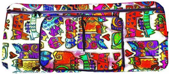 Чехол-портмоне Y-SCOO 180 КОШКИ разноцветный princesas y villanos tulua