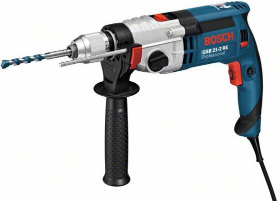 Ударная дрель Bosch GSB 21-2 RE 1100Вт цена