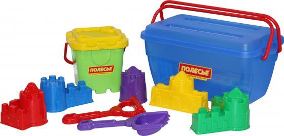 Песочный набор Полесье в контейнере 500 6 предметов полесье песочный набор 210 5 предметов полесье