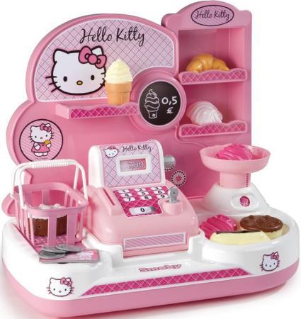 все цены на Игровой набор SMOBY Мини-магазин Hello Kitty 16 предметов 24778 онлайн