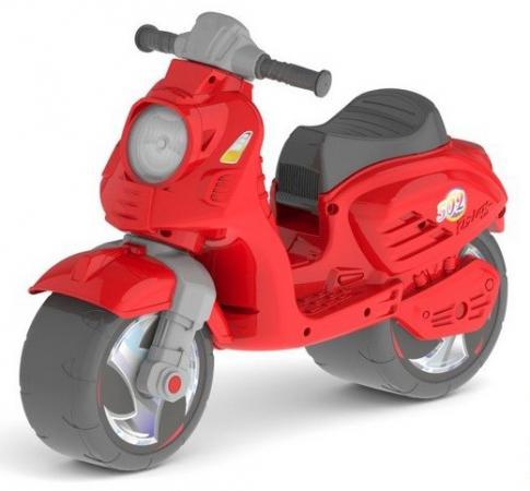 Каталка-мотоцикл двухколёсный RT Скутер красный ОР502 2x yongnuo yn600ex rt yn e3 rt master flash speedlite for canon rt radio trigger system st e3 rt 600ex rt 5d3 7d 6d 70d 60d 5d