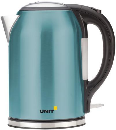 Чайник Unit UEK-270 2000 Вт бирюзовый 1.8 л нержавеющая сталь термоконтейнер арктика 2000 30 л зеленый