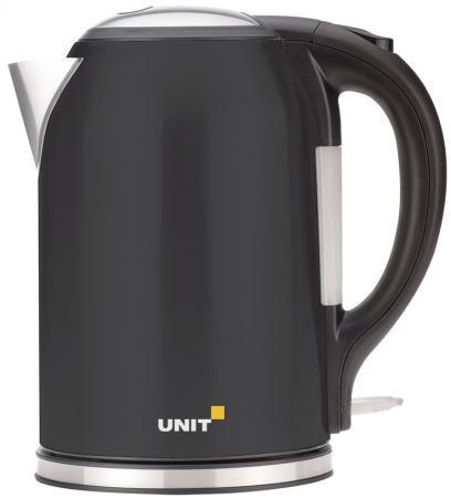 Чайник Unit UEK-270 2000 Вт чёрный металлик 1.8 л нержавеющая сталь