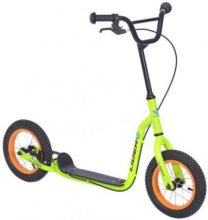 Самокат двухколёсный Velolider LIDER JUNO 12 141135 12 киви велосипед velolider rush army 18 ra18 хаки