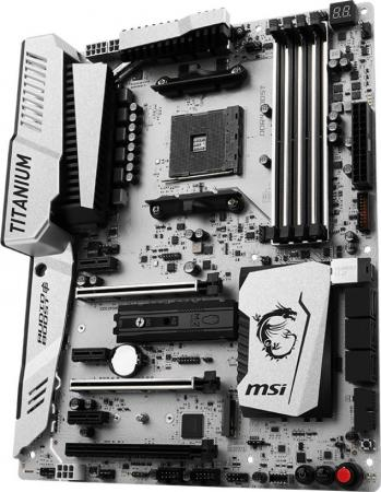 купить Материнская плата MSI X370 XPOWER GAMING TITANIUM Socket AM4 AMD X370 4xDDR4 3xPCI-E 16x 3xPCI-E 1x 6xSATAIII ATX Retail недорого