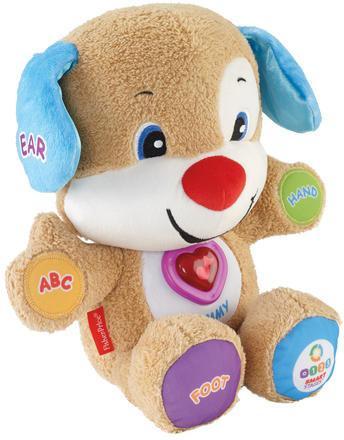 Интерактивная игрушка Fisher Price Ученый щенок с технологией Smart Stages CJV61 от 6 месяцев разноцветный