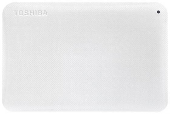 Внешний жесткий диск 2.5 USB 3.0 3Tb Toshiba белый HDTP230EW3CA