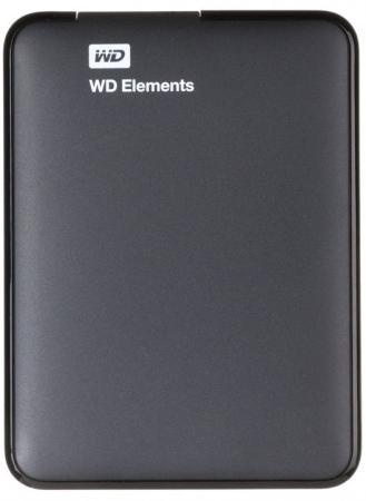Внешний жесткий диск 2.5 USB3.0 2 Tb Western Digital WDBU6Y0020BBK-WESN черный внешний жесткий диск western digital wdbuzg0010bbk wesn 1tb wdbuzg0010bbk wesn