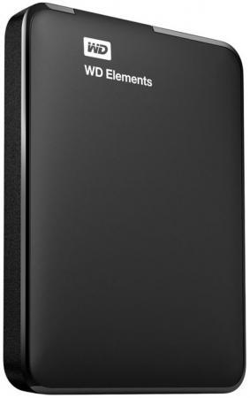 Внешний жесткий диск 2.5 USB3.0 500 Gb Western Digital WDBUZG5000ABK-WESN черный