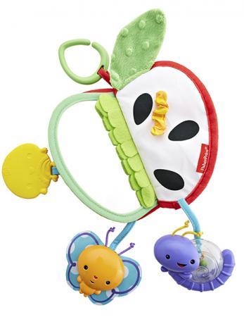 Игрушка-прорезыватель Fisher Price Яблочко (разнофактурное) с рождения разноцветный fisher price прорезыватель музыкальные ключики
