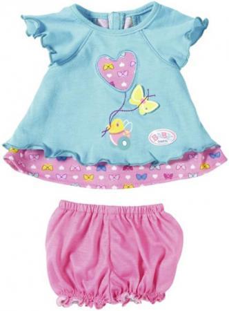 Одежда для кукол Zapf Creation Baby Born - Туника с шортиками 823-552 в ассортименте samsung rs 552 nruasl