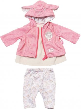 Одежда для кукол Zapf Creation Baby Annabell для прогулки в ассортименте куклы и одежда для кукол zapf creation baby annabell памперсы 5 штук
