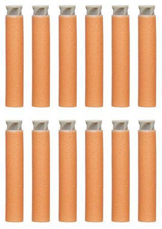 Набор стрел для бластеров Hasbro Nerf Accustrike оранжевый 12 стрел C0162 оружие игрушечное hasbro hasbro бластер nerf n strike mega rotofury