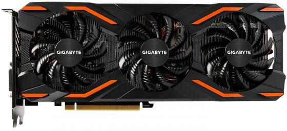 Видеокарта GigaByte GeForce GTX 1080 GV-N1080D5X-8GD PCI-E 8192Mb 256 Bit Retail видеокарта 11264mb gigabyte geforce gtx1080ti pci e hdmi dp dvi hdcp gv n108taorus 11gd retail