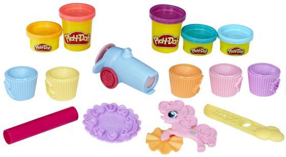 Набор для творчества HASBRO Вечеринка Пинки Пай 5 цветов B9324 hasbro play doh игровой набор из 3 цветов цвета в ассортименте с 2 лет