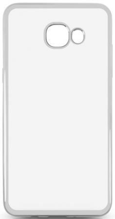 Чехол силиконовый DF sCase-37 для Samsung Galaxy J5 Prime/ On5 2016 с рамкой серебристый силиконовый чехол с рамкой для samsung galaxy j2 prime grand prime 2016 df scase 36 gold