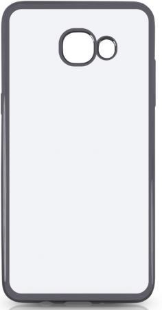 Чехол силиконовый DF sCase-37 для Samsung Galaxy J5 Prime/ On5 2016 с рамкой серый силиконовый чехол с рамкой для samsung galaxy j2 prime grand prime 2016 df scase 36 black