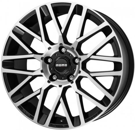 цены Диск MOMO REVENGE 7xR17 4x108 мм ET25 Matt Black-Polished WRVE70725408