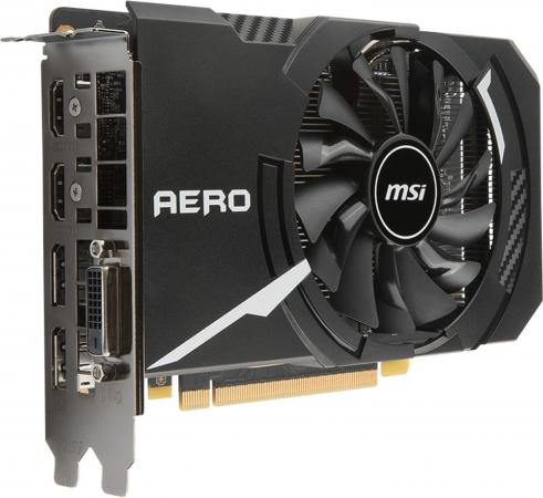 Видеокарта 6144Mb MSI GeForce GTX 1060 PCI-E 192bit GDDR5 DVI HDMI DP HDCP GTX 1060 AERO ITX 6G OC Retail видеокарта 6144mb asus geforce gtx1060 pci e 192bit gddr5 dvi hdmi dp hdcp ex gtx1060 6g retail